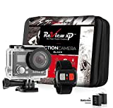 Review XP C300 Action Camera 4K 16MP Ultra HD Sports Waterproof Wi-Fi 170° Wide Angle Lens DV Digital Camcorder 2.4g Remote Control, 2 Batteries 1050mAh, 20+ Mounting Kits + Carrying Case – Black