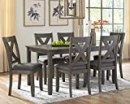 Signature Design by Ashley Caitbrook Dining Room Table Set, Grayish Brown