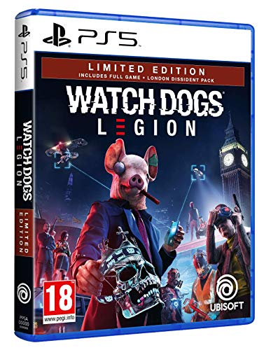 Watch Dogs Legion Limited Edition Amazon PS5