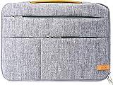 SCOPE -5750- Maletín de portátil 14 pulgadas Cubierta del maletín con compartimentos para accesorios | cubierta protectora de la funda del portátil con bolsillo interior de vellón para el Netbook