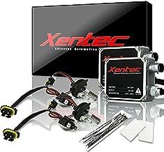 XENTEC 55W Standard Size Ballasts x 2 bundle with 2 x Xenon Bulb H4 Hi/Lo 6000K w/Hi-beam..
