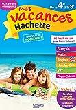 Mes vacances Hachette 4E/3E - Cahier de vacances 2020
