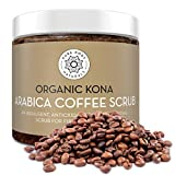 Arabica Coffee Body Scrub Exfoliator with Coconut and Shea Butter for...