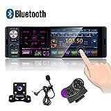 CAMECHO Autoradio Bluetooth 4 '' à écran Tactile capacitif Récepteur...