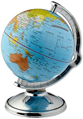 MA Tirelire en forme de globe terrestre rotatif