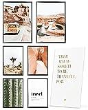Heimlich® Tableau Décoration Murale - sans Cadres - Set de Poster Premium...