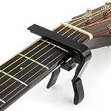 Capodastre pour guitare Maniable d'une seule main Convient pour presque...