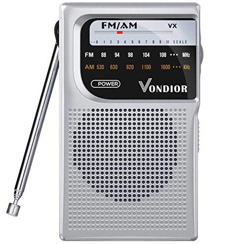 AM FM Battery Operated Portable Pocket Radio - Best...