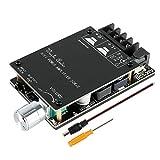 Bluetooth Amplifier Board Hifi Stereo 2.0 TPA3116D2 2X50W 5V Audio Amplifier Module Digital Power Amplifier Bluetooth 5.0 Dual Channel AMP
