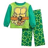 Nickelodeon Teenage Mutant Ninja Turtles Fleece Pajama Set (3T)