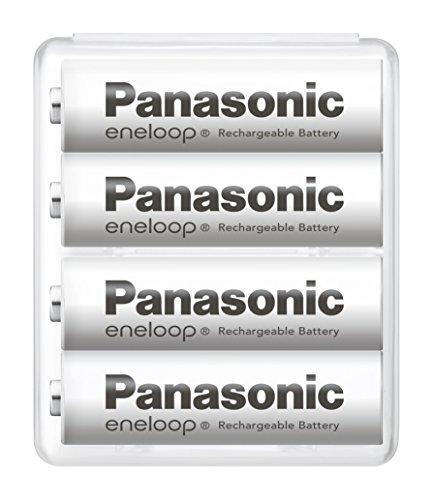 【Amazon.co.jp限定】パナソニック エネループ 単3形充電池 4本パック スタンダードモデル BK-3MCC/4SA
