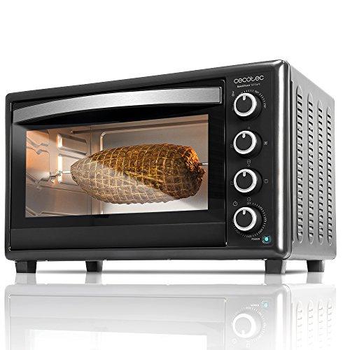 Cecotec Bake&Toast 750 Gyro - Horno Sobremesa, 2000 W, 12 Modos,...