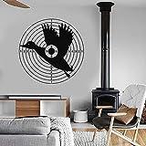 Divertido pato creativo etiqueta de la pared Club de caza Hobby Hunter Ideas de decoración de vinilo | Art Deco para la motivación y la inspiración