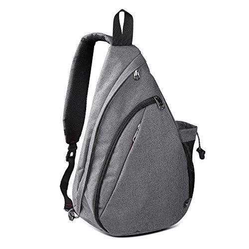 OutdoorMaster Sling Bag - Small Crossbody Backpack for Men &...