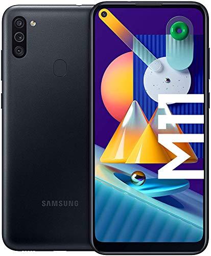 Samsung Galaxy M11 - Smartphone débloqué 4G - Noir - Version Française [Exclusivité Amazon]