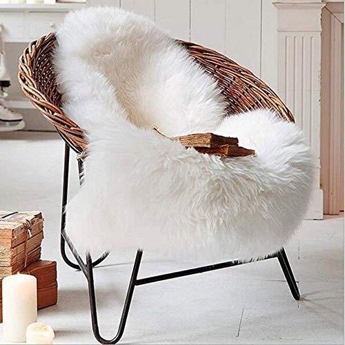 KAIHONG, Tappeto in ecopelliccia di pecora 60x 90cm, finta pelle di agnello, di qualit, pelo lungo,...