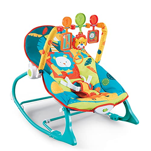 Baybee Nora Baby Rocker and Bouncer with Soothing Vibrations & Multi-Position Recline   Portable...