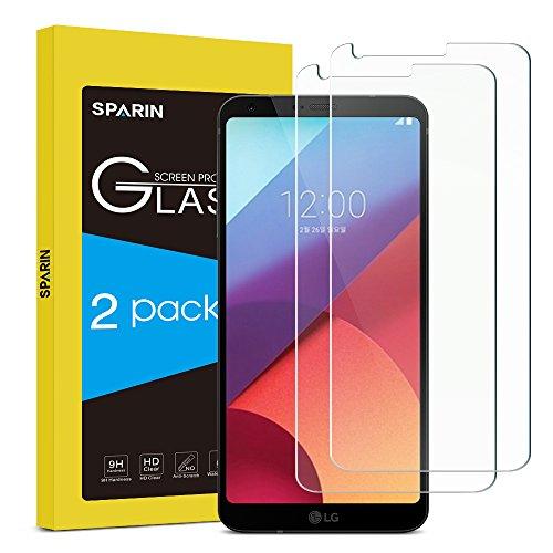 [2 Pezzi] Pellicola Vetro Temperato Compatibile con LG G6, Pellicola Protettiva LG G6 [Copertura Completa] [Ultra Resistente] [Durezza 9H] [Nessuna bolla] [Anti-shock] [Anti-impronte] [ Antigraffi]