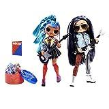 LOL Surprise OMG Remix Poupée Mannequin - A Collectionner - Vêtements de Mode & Accessoires - Rocker Boi & Punk Grrl - 2 Paquets