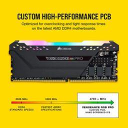 Corsair-Vengeance-RGBPRO16GB-2x8GB-Ddr43200Pc4-25600-C16Amd-OptimizedmemoryBlack