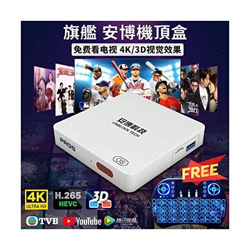 2020 UNBLOCK PROS Gen7    Chinese Jailbreak Version  IP BOX 7Days Playback 100K+