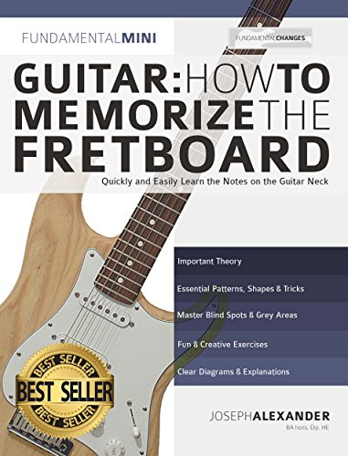 Guitar: How to Memorize the Fretboard: Quickly and Easily Learn ...
