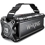 W-KING 50W(70W Peak) Enceinte Bluetooth Portable & Batterie de Recharge 8000...