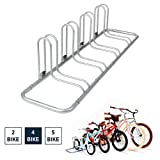 Retrospec Stash Rack 4 Bike Floor Stand Bicycle Storage Organizer