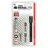 Maglite Mini LED 2-Cell AAA Flashlight Black - SP32016