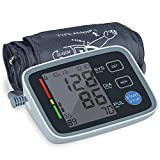 Blood Pressure Monitor Cuff Upper Arm, BP Machine 8.66-16.5 inches Large Cuff. ALPHAGOMED Accurate Automatic Digital Sphygmomanometer for Home Use. 2 User 180 Sets Memory LCD Display, 4AA Battery