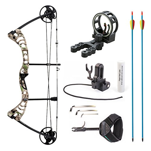 Leader Accessories Compound Bow 30-55lbs Archery Hunting...