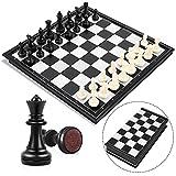 Peradix Jeu d'échecs Deluxe Pliable Echecs magnétique pour Enfants à...