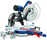 Bosch Power Tools GCM12SD - 15 Amp 12 Inch Corded Dual-Bevel Sliding Glide Miter Saw with 60 Tooth...