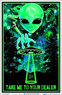 Take Me to Your Dealer Blacklight Poster 23 x 35in