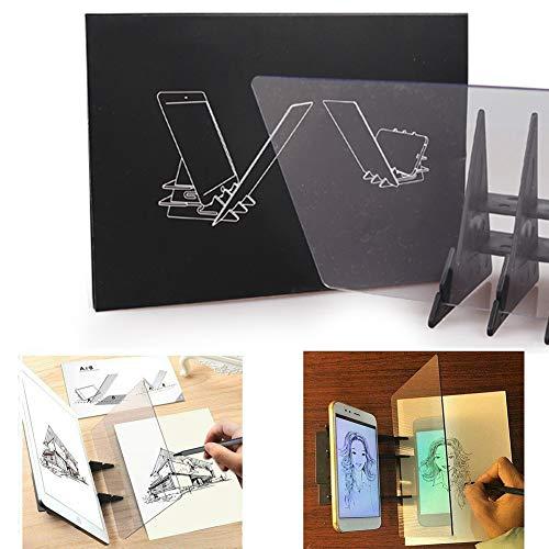 Tavolo da disegno ottico Tavolo da disegno Schizzo Schizzo Procedura guidata Immagine Riflettore...