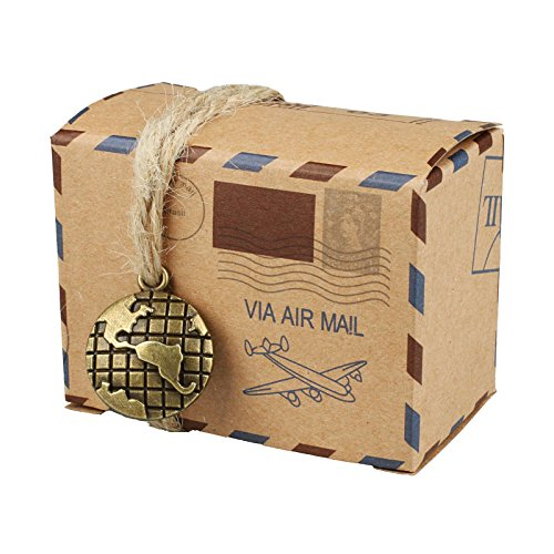 vLoveLife - Lot de 50boîtes à bonbons vintage inspirées par les...