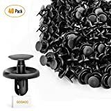 GOOACC Engine Under Cover Push-Type Retainer for Lexus & Toyota Clips 90467-07201 OEM Replacement Fasteners - 40PCS