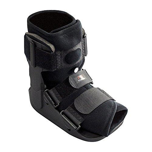 Physioroom Kurze Fußorthese - Kurze Schiene, Leichte Unterstützung und Schutz - Ideal für Frakturen, Bändern und Sehnen Op, Verstauchungen des Sprunggelenks und Achillessehnenreparaturen