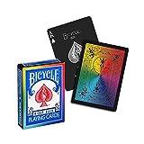 Jeu de cartes Bicycle Rainbow black