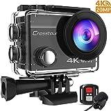 Crosstour 4K Caméra Sport 20MP Webcam WiFi Appareil Photo Étanche avec...