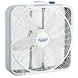 Lasko 20 Weather-Shield Performance Box Fan - Features Innovative Wind Ring System for Up to 30% More Air, 3720