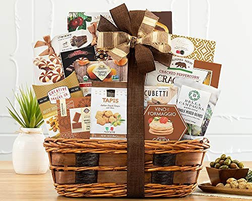The Bon Appetit Gourmet Food Gift Basket by Wine...