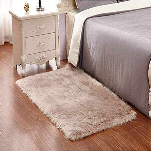 Faux pelliccia di agnello di pecora tappeto,Pelliccia sintetica Tappeto vello di pecora - bel colore...