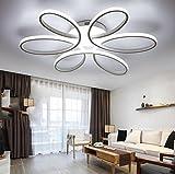Lámpara de techo Led Dormitorio principal Cálido romántico habitación de los niños Sala de la boda de la muchacha Moderno salón moderno iluminación , 2 , 58cm
