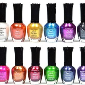 Kleancolor Nail Polish - Awesome Metallic Full Size Lacquer Lot of 12-pc Set Body Care / Beauty Care / Bodycare... 31