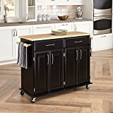 Dolly Madison Black Kitchen Cart by...