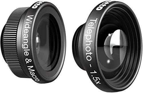 manfrotto KLYP+フォトグラフィックケース用レンズ iPhone5/6用 クリエイティブセット(1.5倍&ワイド/マクロ) MOKLYP6-WT