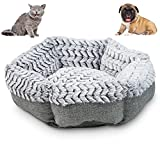 OFFERS YOUR PET A BETTER SLEEP: The Pet Craft Supply Soho Round pet bed features an orthopedic memory foam chip base, covered in luxurious soft plush. - Provides all around comfort and helps relieve muscle and joint pressure, aches, and discomfort. P...