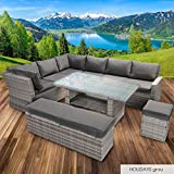 BRAST Poly-Rattan Gartenmöbel Essgruppe Lounge Set Sitzgruppe Outdoor Möbel Garten - 2