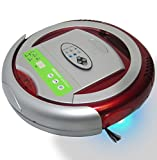 Infinuvo QQ2 Basic Robotic Vacuum Cleaner - Vacuum, Sweep and Sterilize 3-in-1 Automatic Robot for Cleaning Dirt, Dust and Pet Hair on Hard Floors